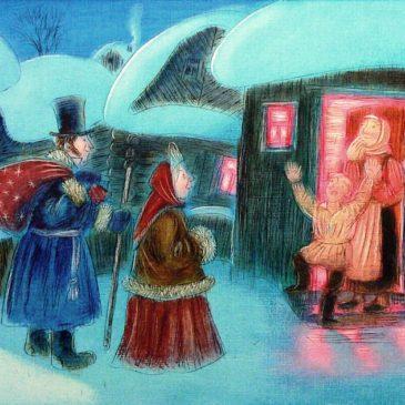 Пушкинское общество Латвии поздравляет с Новым 2016 годом! Встречайте!